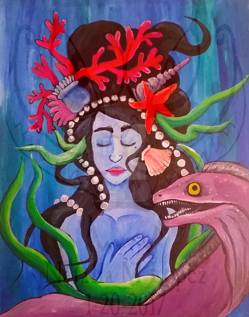 Sea Siren by DemonicNeko