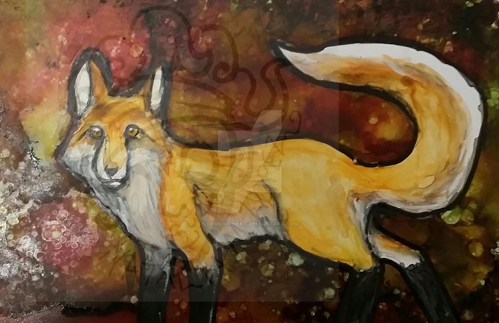 Fox by DemonicNeko