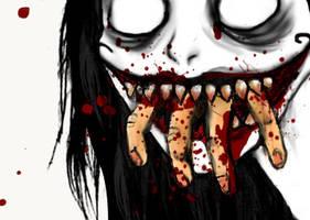 Bite the hand that feeds by DemonicNeko