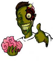 Zombie by DemonicNeko