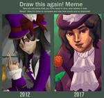 Draw This Again Meme - A Gentleman by JackaloppStudios