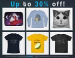 30% off everything! by JackaloppStudios