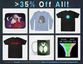 Up To 35% Off Everything!