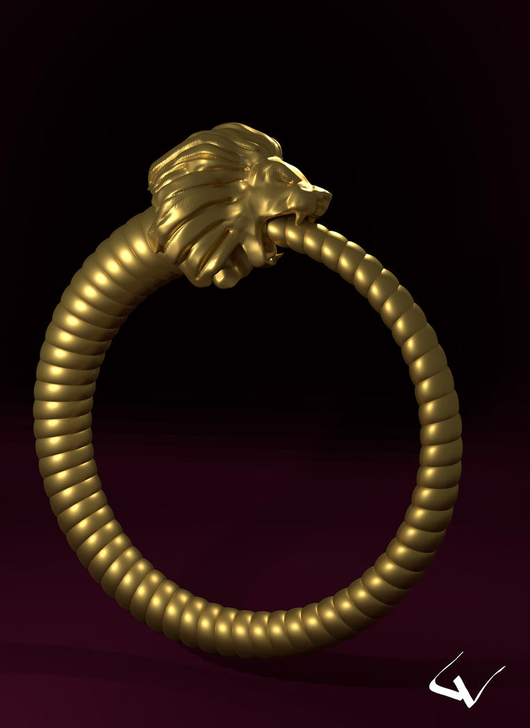 Lion Ring by lhumungus