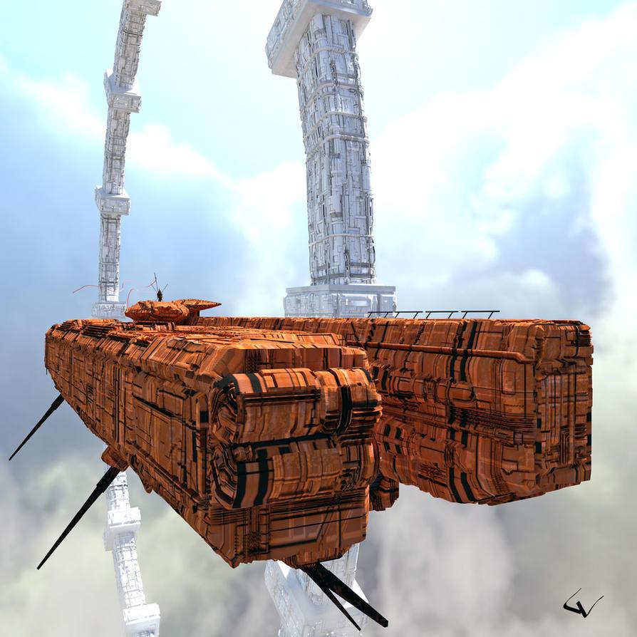 Bargemaster by lhumungus