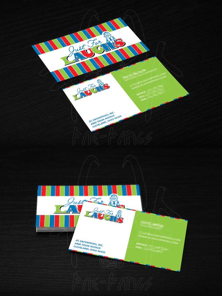 Just for laughs business cards by fae fangs on deviantart just for laughs business cards by fae fangs colourmoves