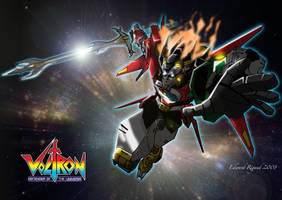 Voltron by edwardrigaud