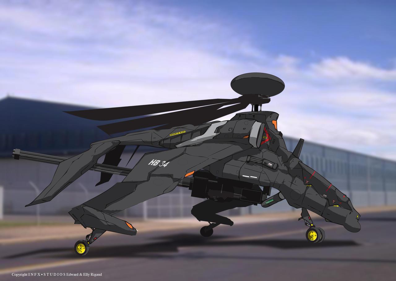Destiny-HX 32 Drangon AI by edwardrigaud