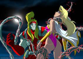 Kinetics vs Omega Red