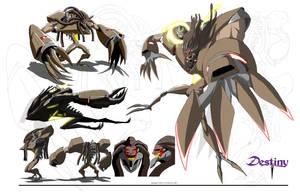 Destiny-Arsenal character sheet 2 by edwardrigaud