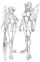 destiny-Dera sketch-ART-972 by edwardrigaud
