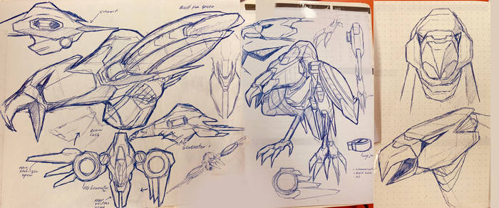 DESTINY-Eagle droid sketch