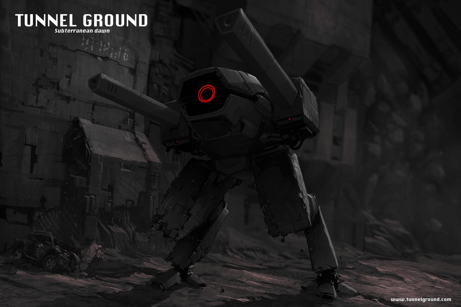 Tunnel Ground  Subterranean Dawn concept art by TunnelGround