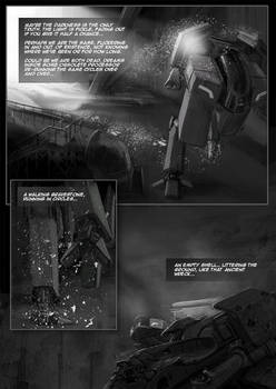 Tunnel Ground Comic sample page 2