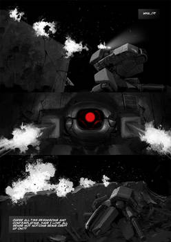 Tunnel Ground Comic sample page 1