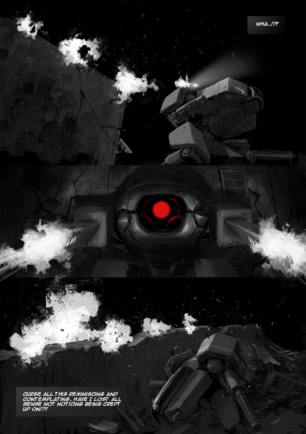 Tunnel Ground Comic sample page 1 by TunnelGround