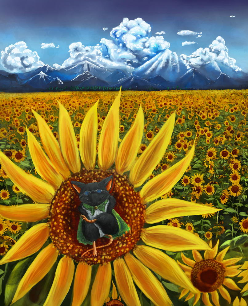 Sunflower paradise by DrexilWatcher