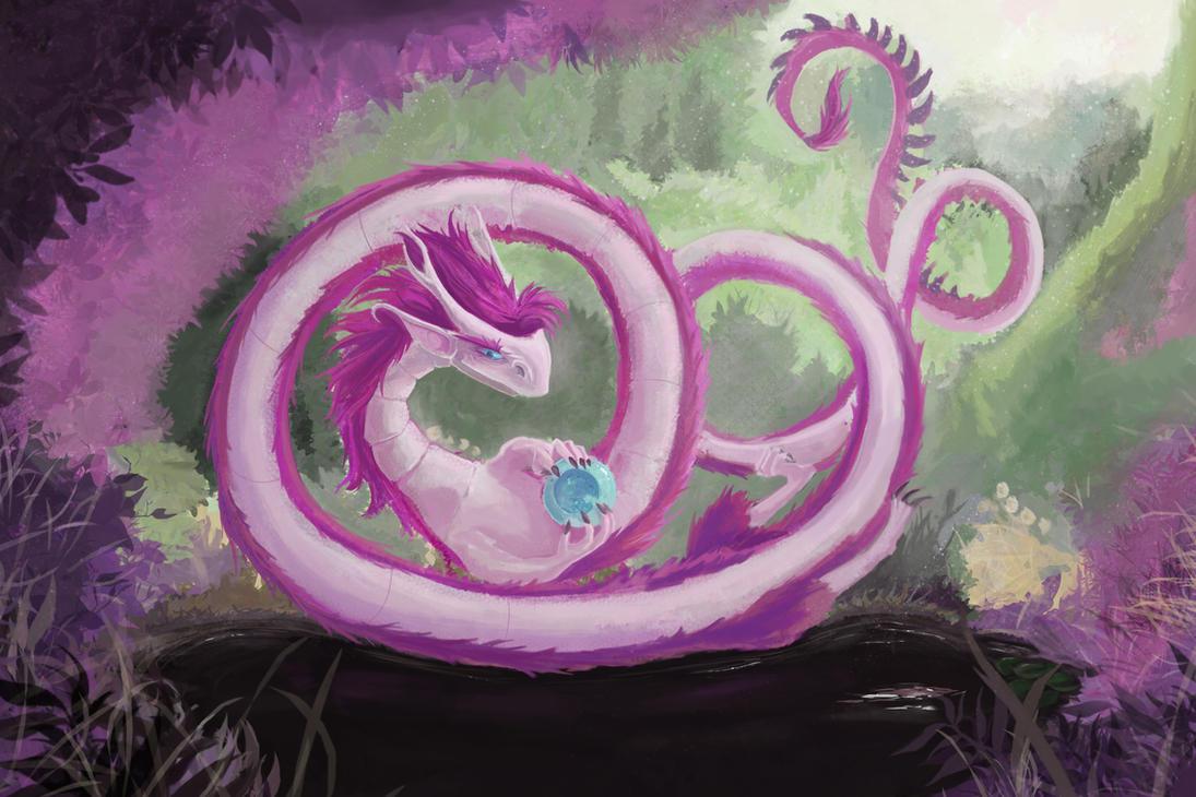 Fei Dragon by DrexilWatcher