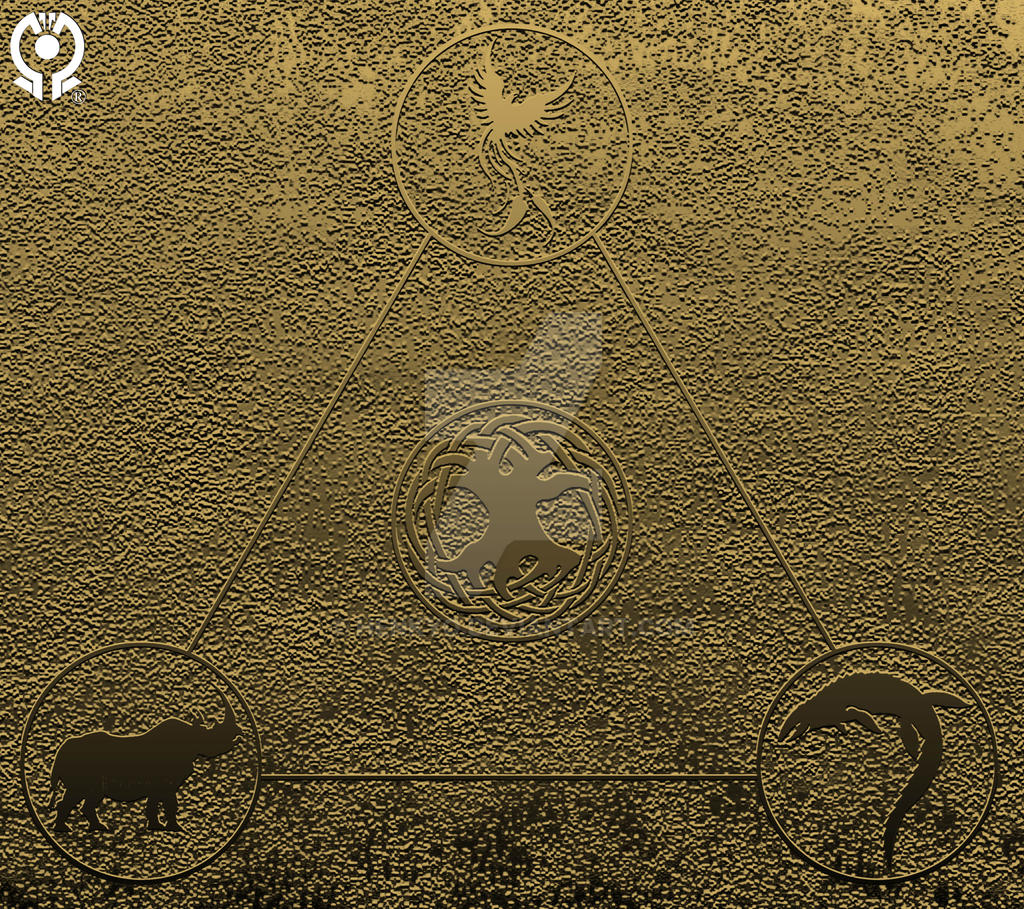 SYMBOLISM: The 3 Great Beasts and the Holy Tree