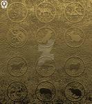 SYMBOLISM: The Zodiac Animals (Ancient board)