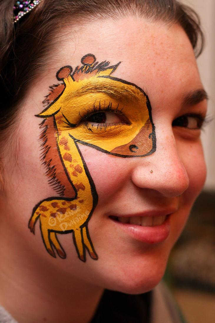 Simple Elephant Face Paint