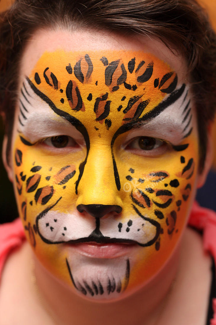 Cheetah Face Paint Pictures