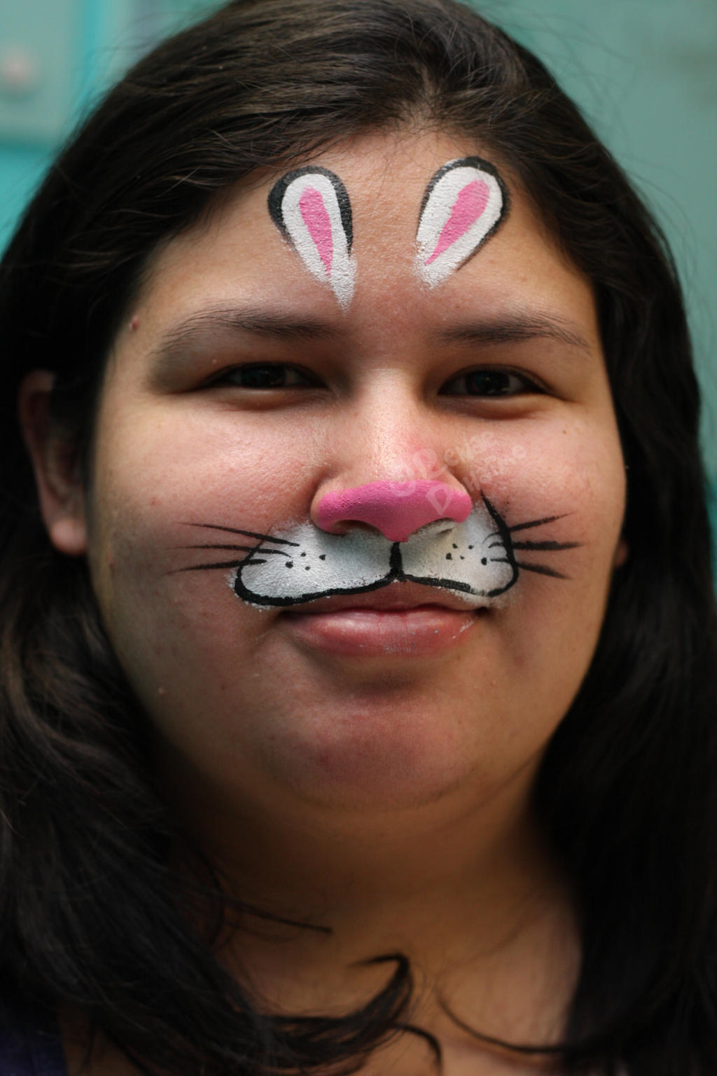 Uncategorized Bunny Face Painting bunny mask original by renduh facepaint on deviantart facepaint