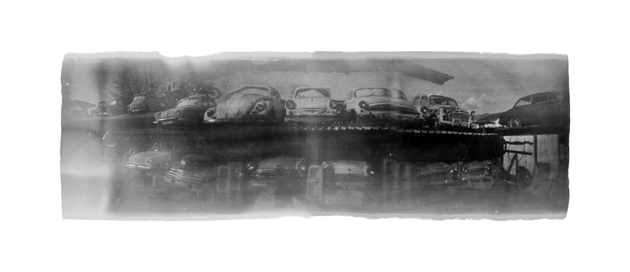 Old Car Collection Near Kocherinovo by Veniamin