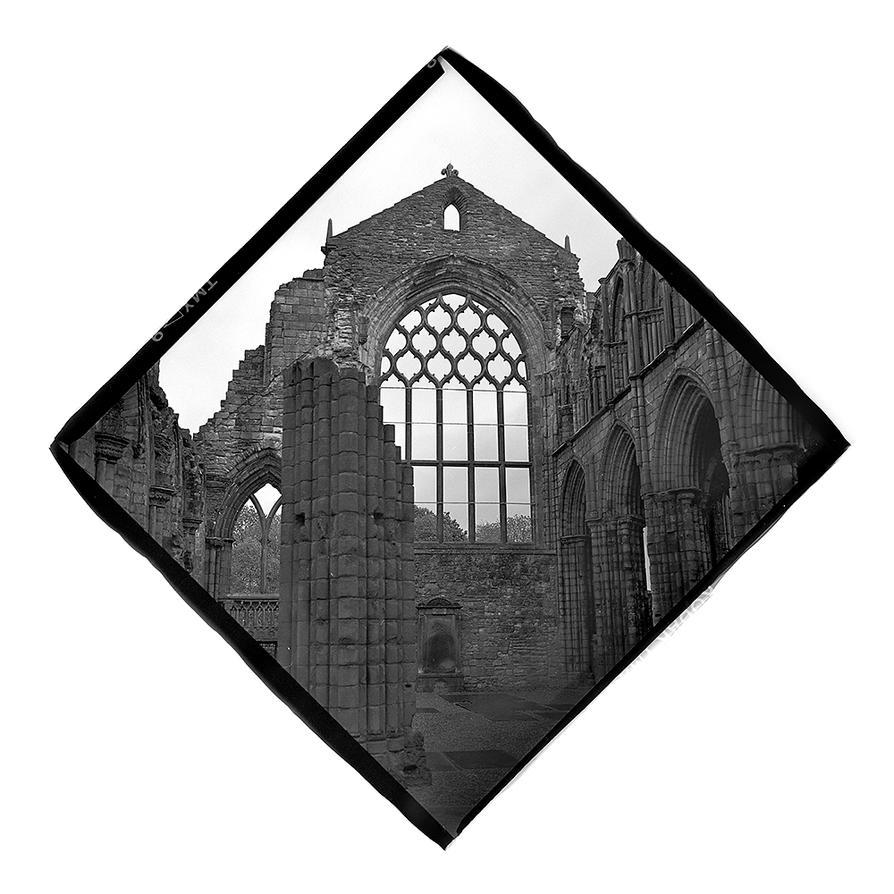 Holyrood Abbey Edinburgh by Veniamin