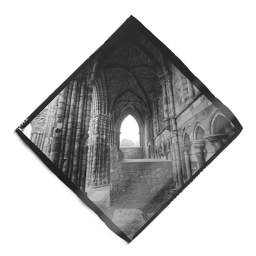 Window In Holyrood Abbey by Veniamin