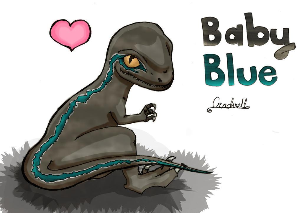Blue Velociraptor By Cradvell On DeviantArt