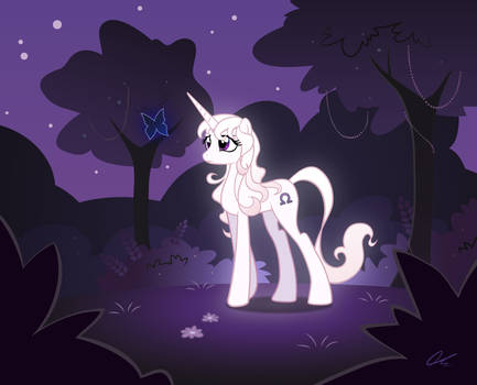 MLP: Amalthea and the blue butterfly