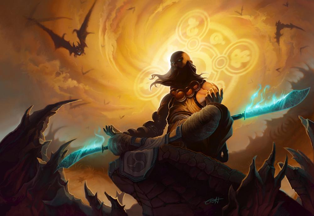 Diablo 3: Monk by Shockowaffel on DeviantArt