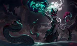Sea witch Nami splash art