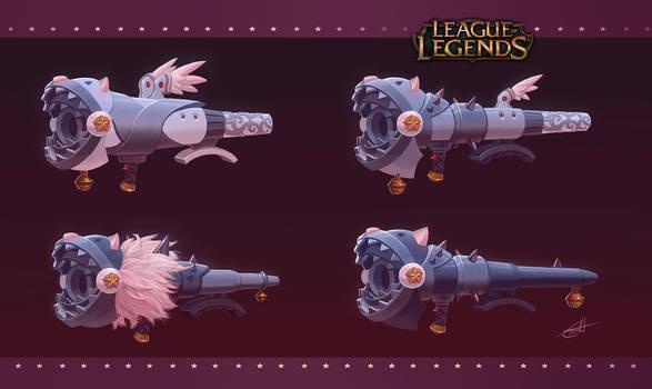 League of Legends: Fishbone concept art