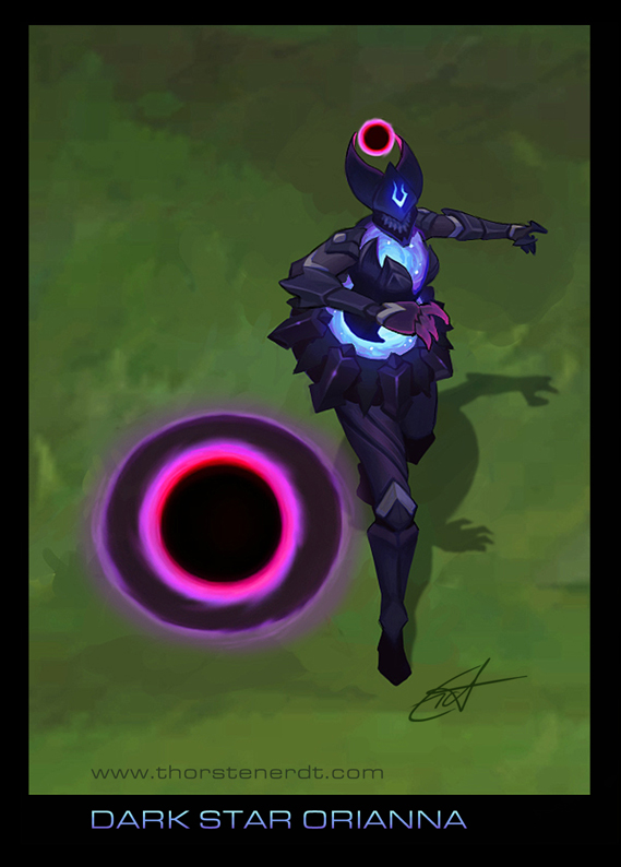 Skin Idea Dark Star Orianna