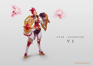 LoL skin concept: Star Guardian Vi