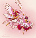 LoL skin idea: Star Guardian Morgana + Kayle