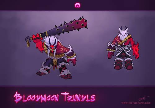 LoL skin idea: Bloodmoon Trundle