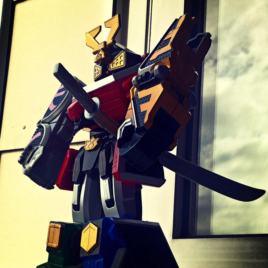Power Rangers Samurai MegaZord by fumpenfoto