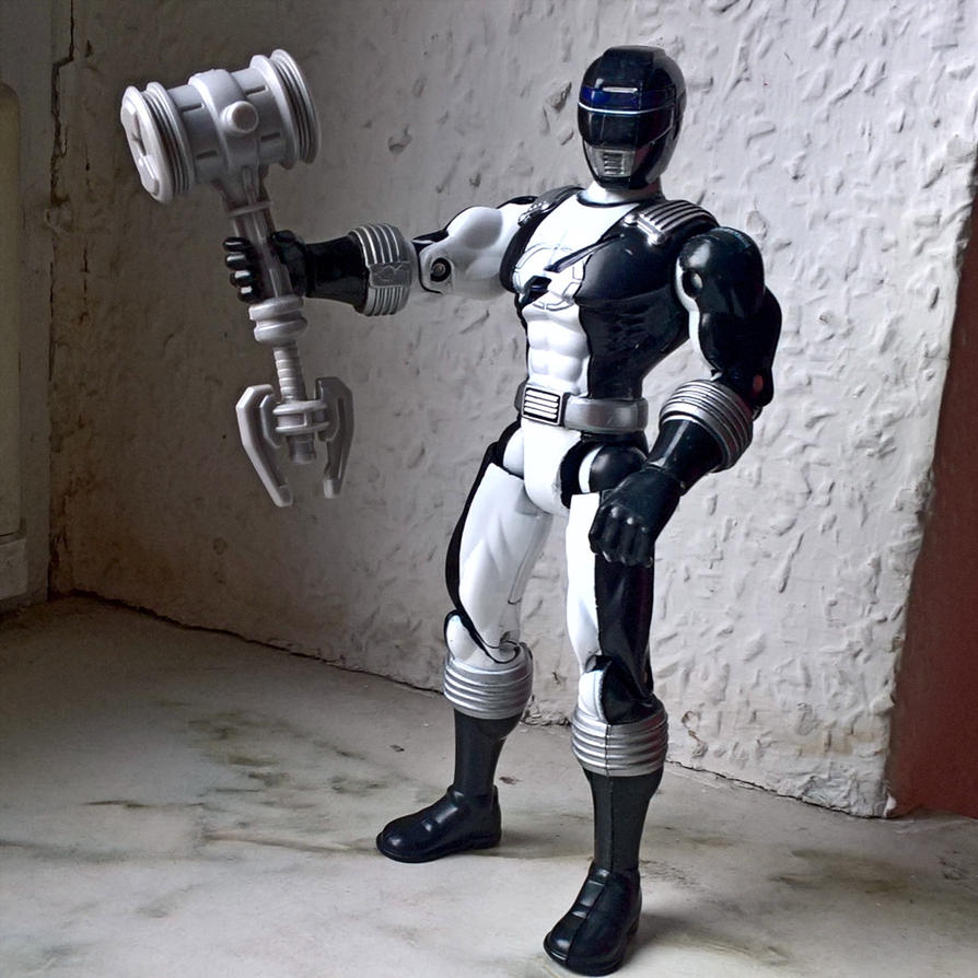 Power Ranger Black by fumpenfoto