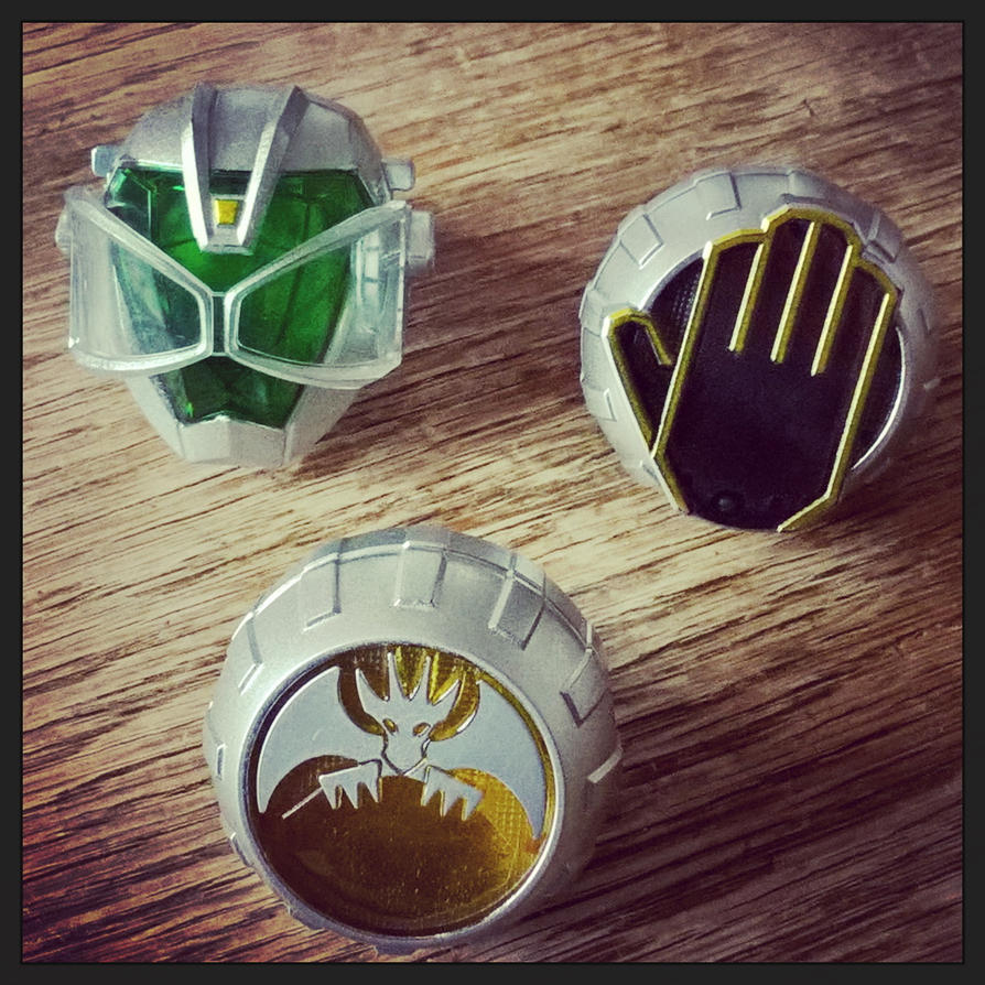 Kamen Rider Wizard Rings by fumpenfoto