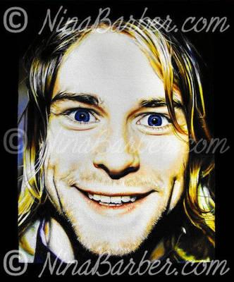 Kurt Cobain by Nin44