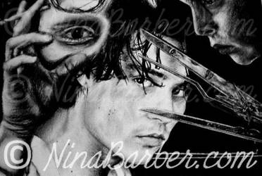 Johnny Depp - collage by Nin44