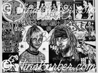 Layne Staley collage by Nin44