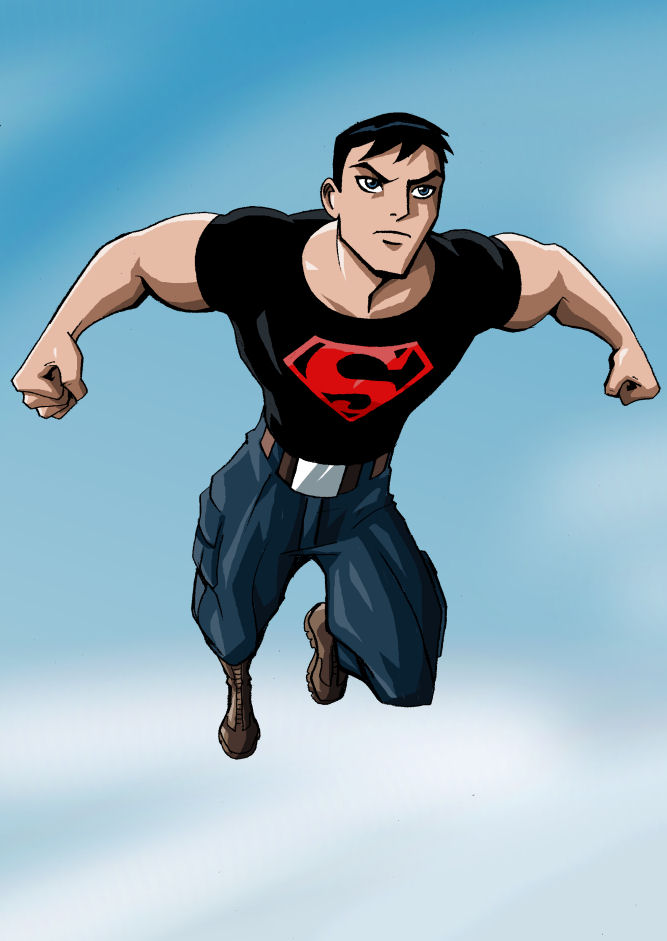 Guilty Pleasure - YJ Superboy by LucianoVecchio
