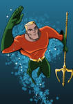 Aquaman DCAU Style