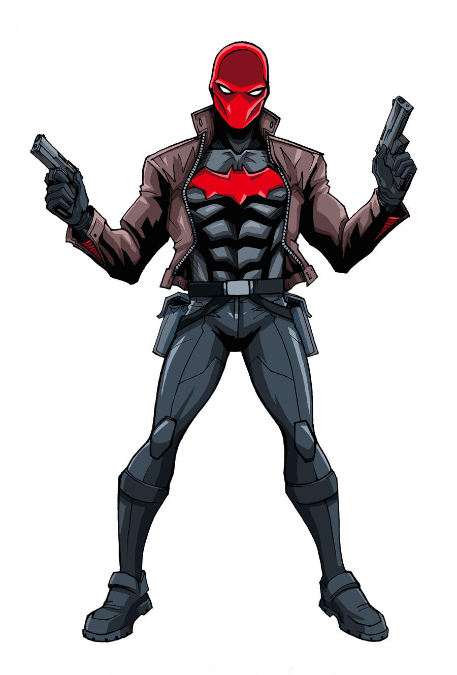 Red Hood by LucianoVecchio