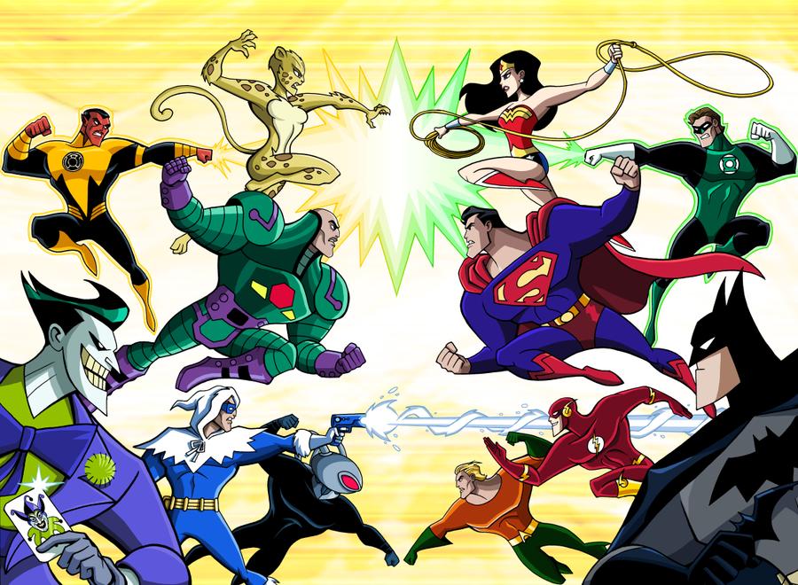 DC Super Villains: VS by LucianoVecchio