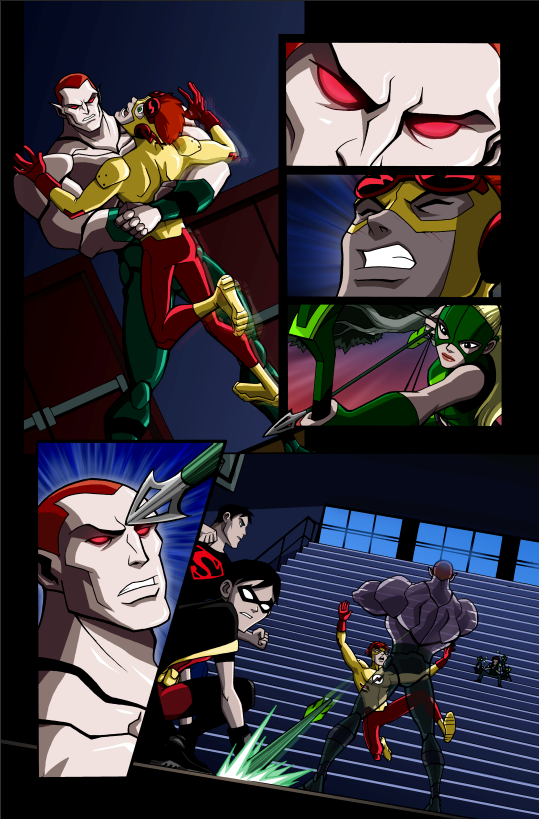 Young Justice samplesYoung Justice Beast Boy Transformations
